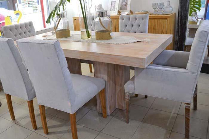 Mesa comedor de madera TT |