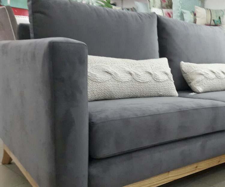 Sofa manhattan con base de madera - Sofas de madera ...